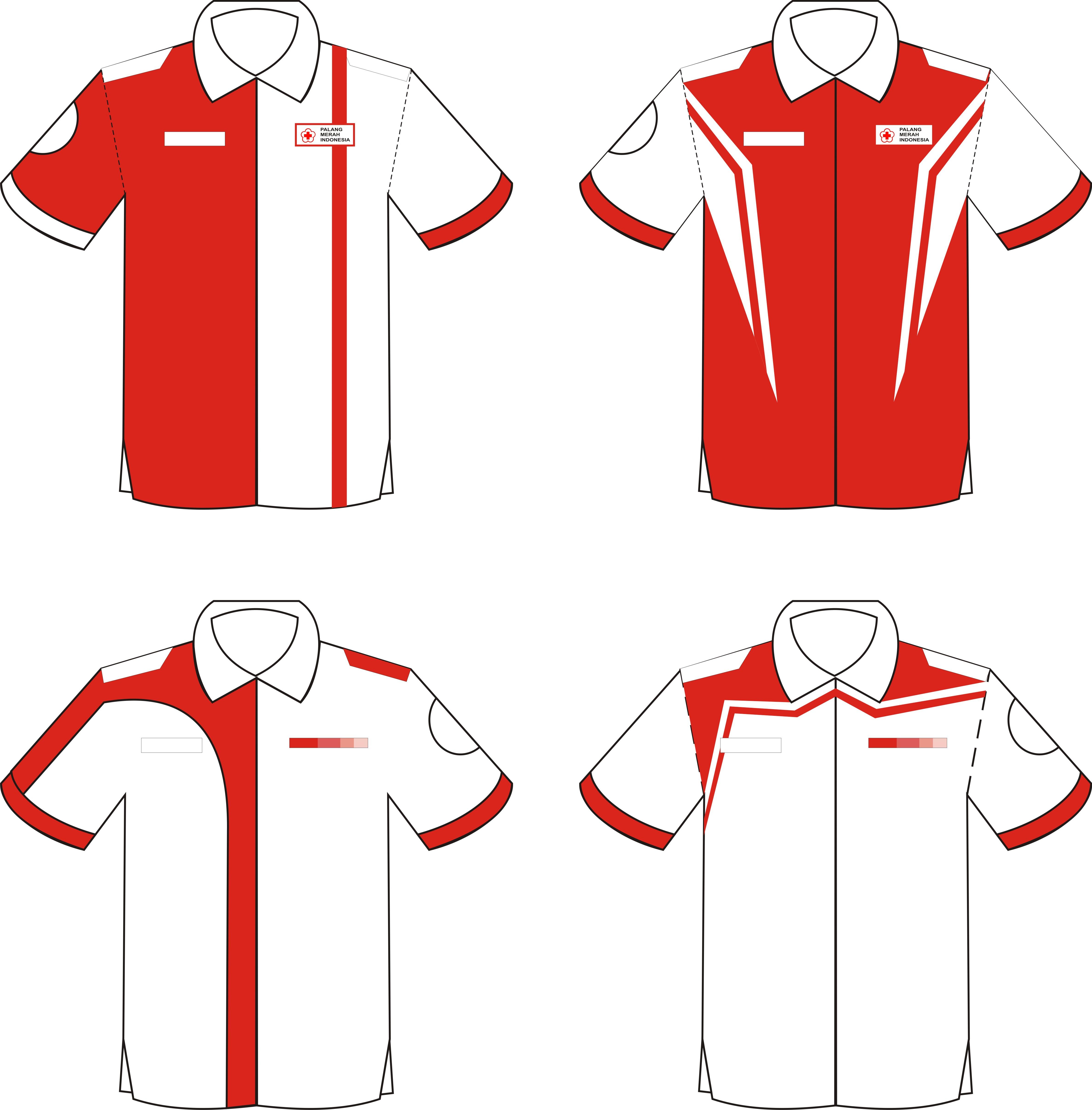 Design Seragam | Korps Sukarela PMI Kab. Sukoharjo